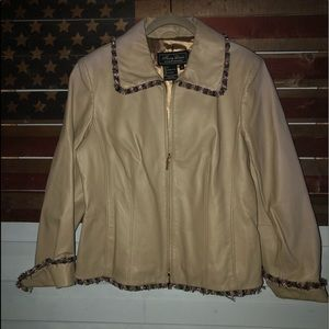 Terry Lewis ClassicLuxuries Leather Jacket medium